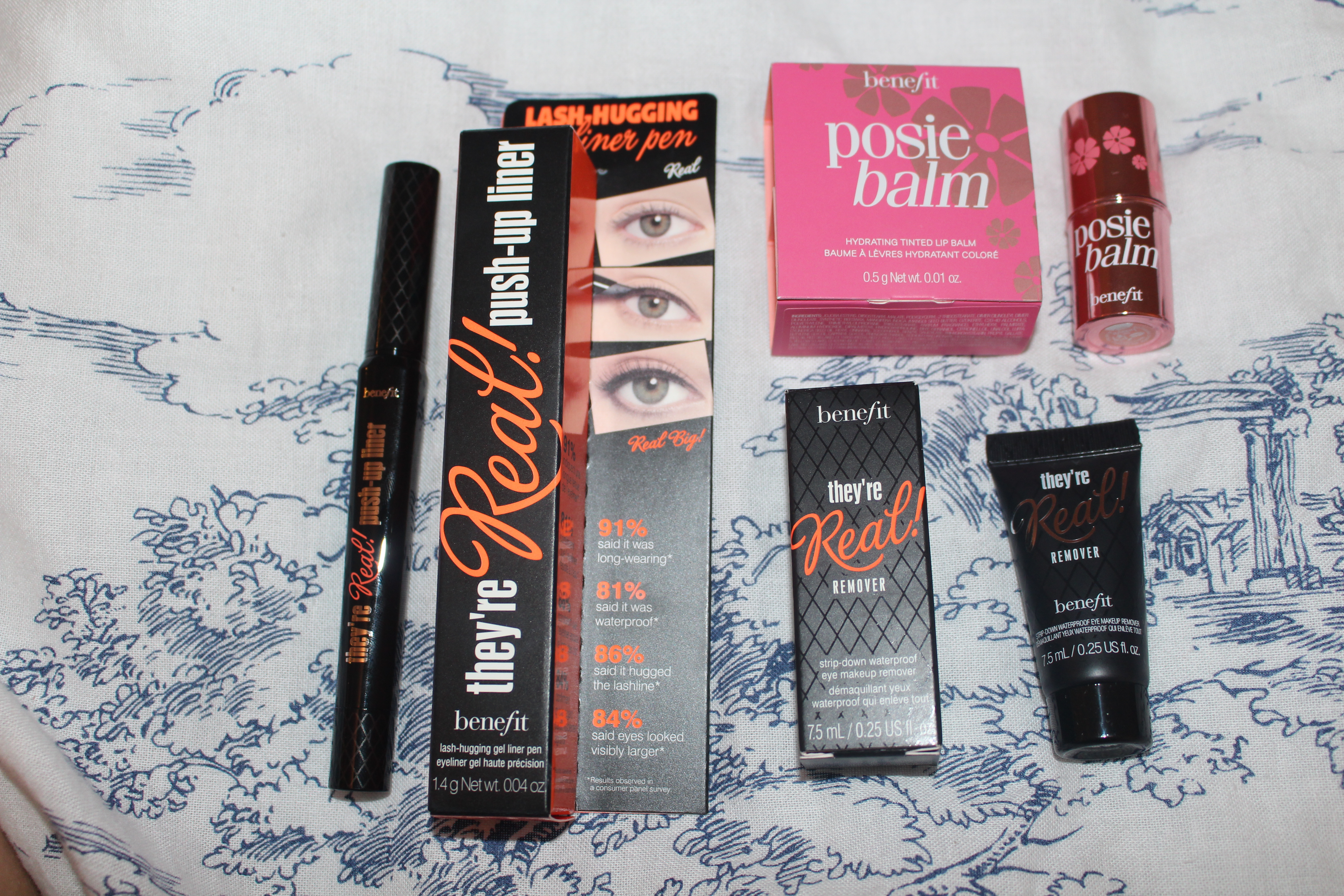 Benefit Theyre Real new release gel eyeliner and remover and posie balm-003