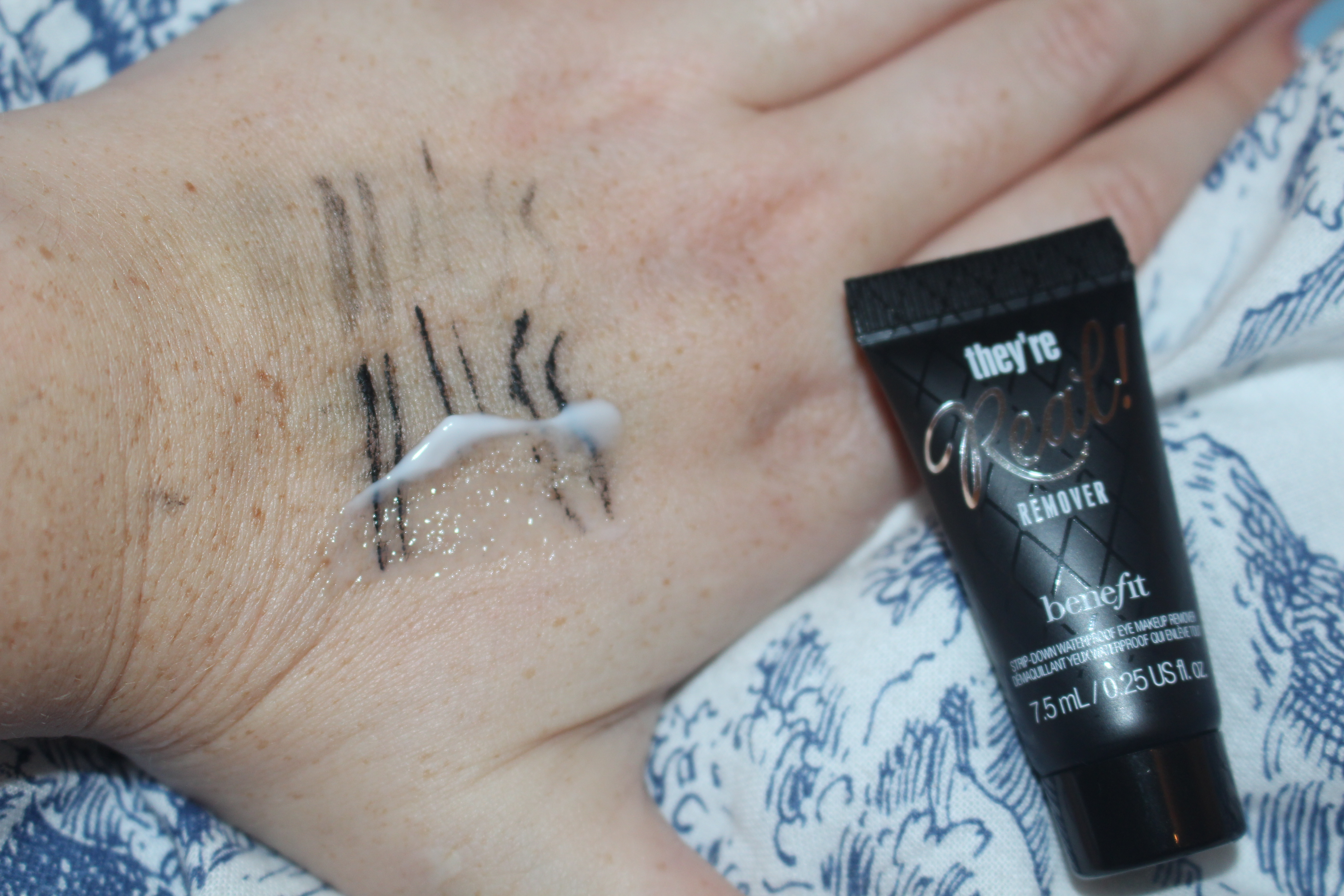 Benefit Theyre Real new release gel eyeliner and remover and posie balm-010