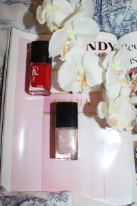 George at Asda Gel Pro at home gel polish in 02 Poppy Red and 04 Nude Beige review-002