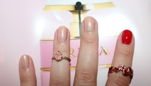 George at Asda Gel Pro at home gel polish in 02 Poppy Red and 04 Nude Beige review-003