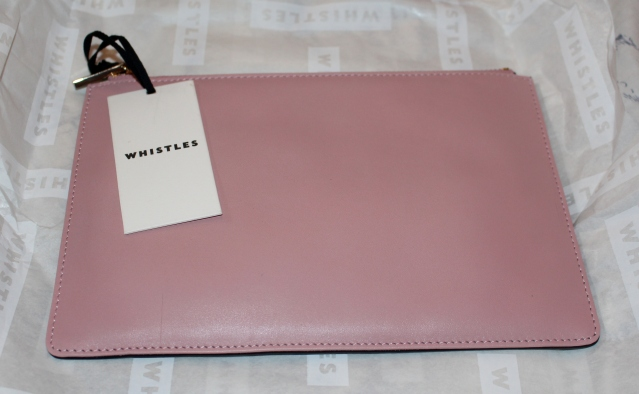 Whistles Sale 50% off Black Clutch Bag-002