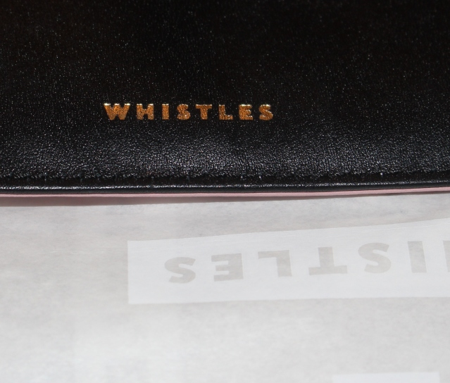 Whistles Sale 50% off Black Clutch Bag-004
