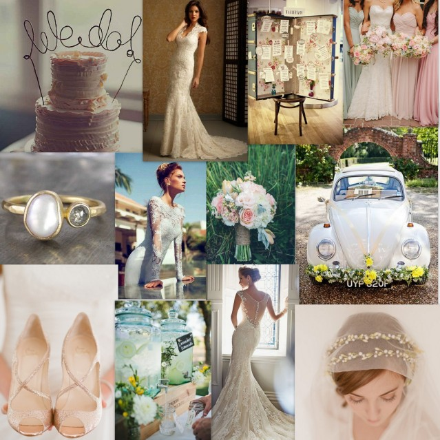 My dream vintage and pastel wedding