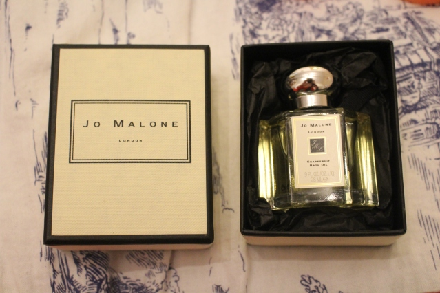 Jo Malone Grapefruit Bath Oil Review