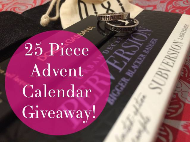 advent calendar giveaway
