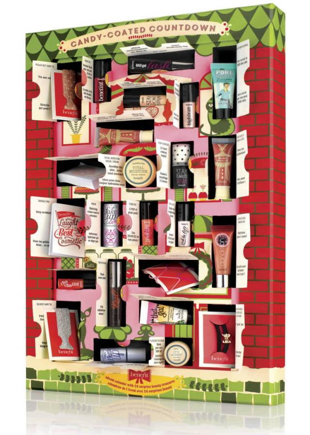 benefit christmas advent calendar 2014 contents