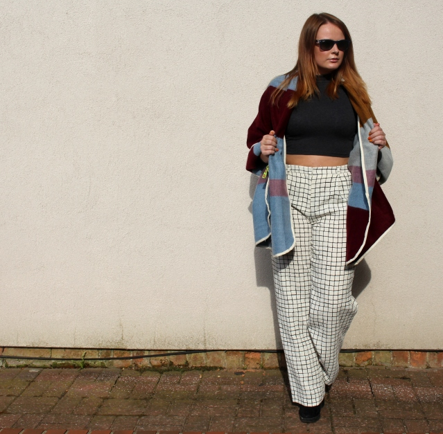 Topshop blanket cape aw14-003