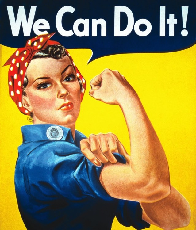 we can do it feminist image
