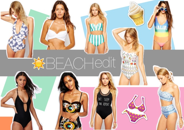 Beach best swimwear asos missguided swimsuit bikini curve