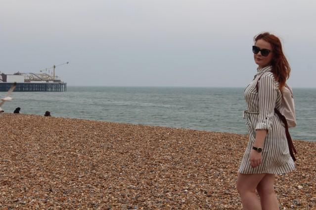 Brighton new look asos stripe shirt dress ootd-003