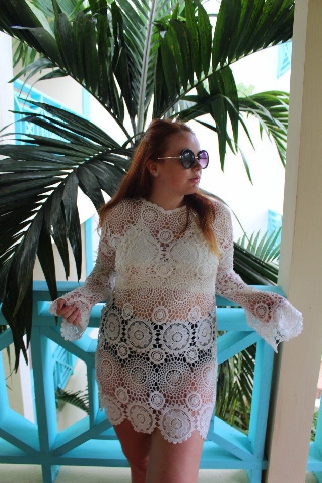 Missguided crochet dress caribbean travel dreams-006