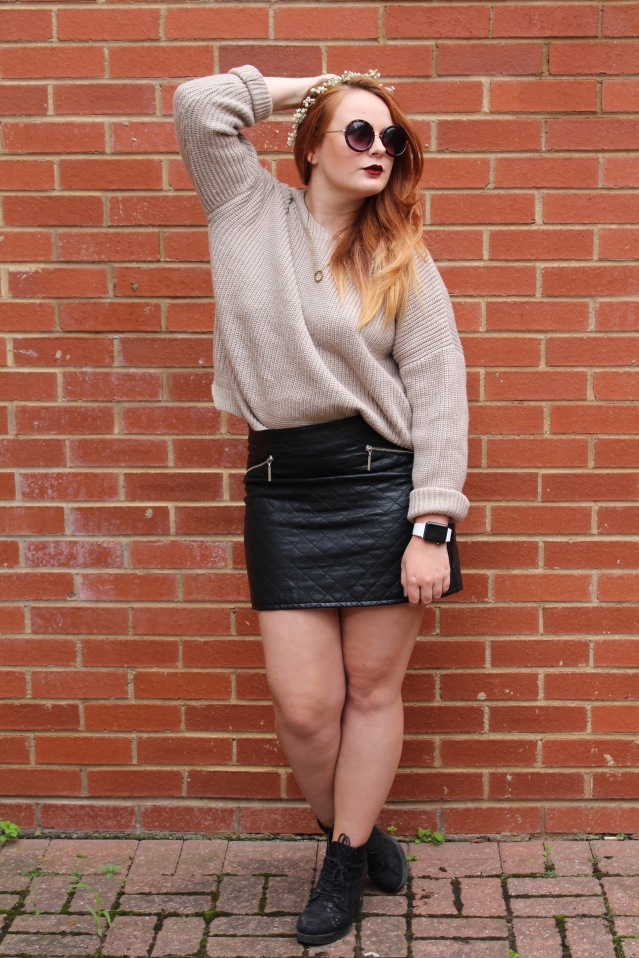 OOTD ASOS cable knit jumper cold summer style-001