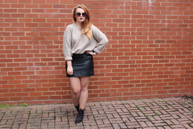 OOTD ASOS cable knit jumper cold summer style-003