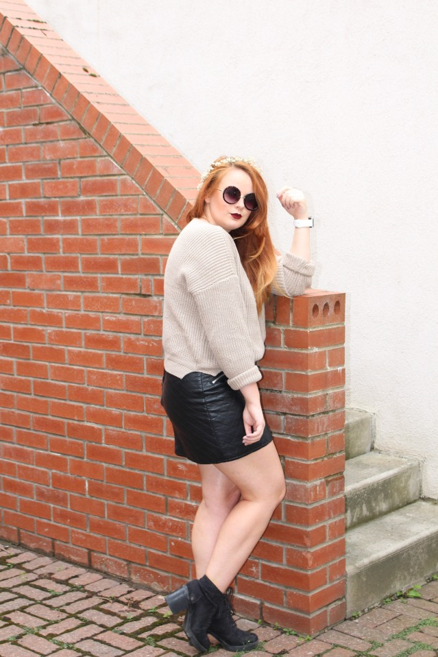 OOTD ASOS cable knit jumper cold summer style-004