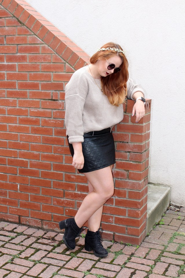 OOTD ASOS cable knit jumper cold summer style-005