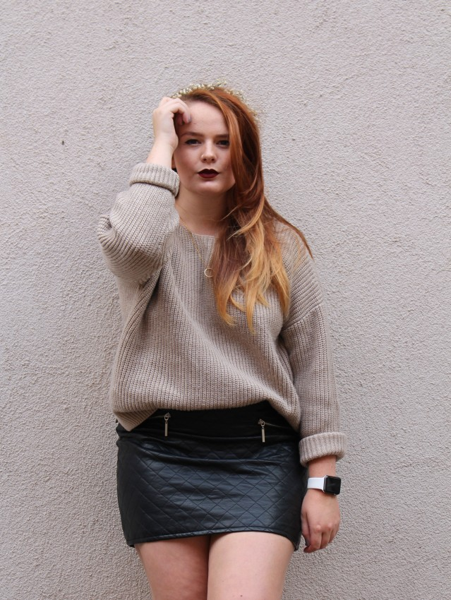 OOTD ASOS cable knit jumper cold summer style-007