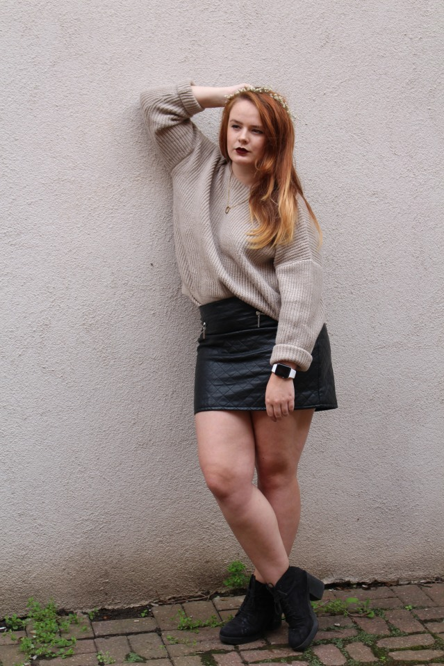 OOTD ASOS cable knit jumper cold summer style-008
