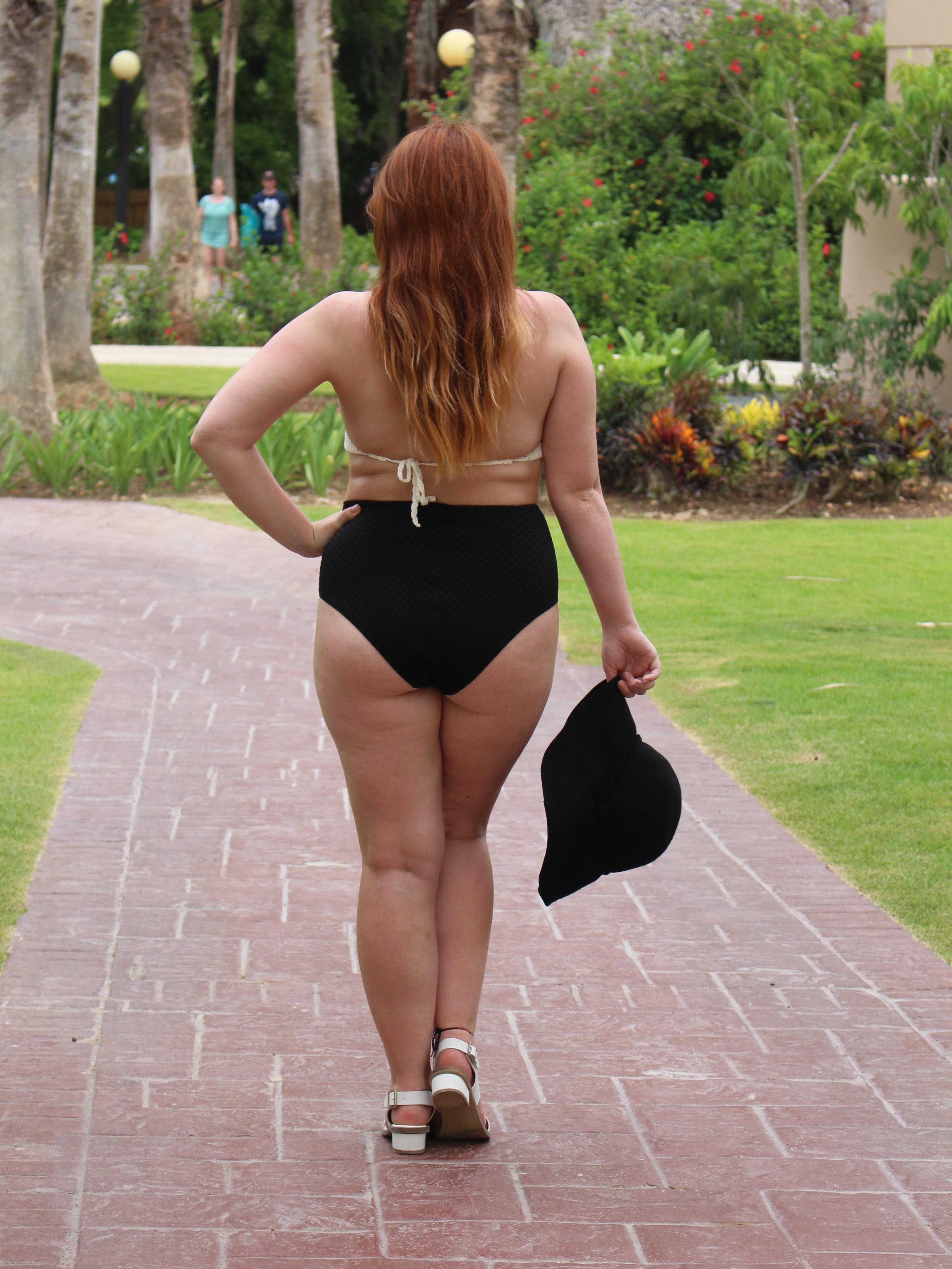 Plus size bikini summer holiday style ootd-004
