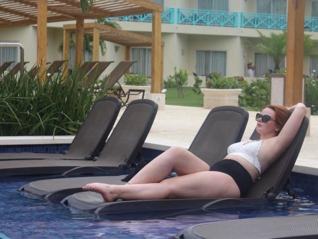 Plus size bikini summer holiday style ootd-006