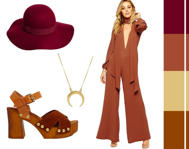 70s style how to wear jumpsuit