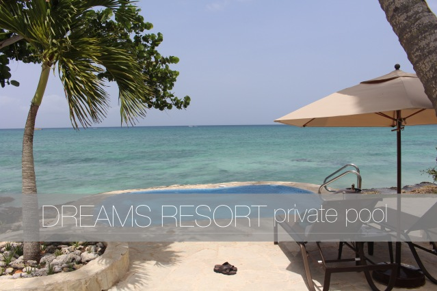 dreams resorts la romana dominican private pool cover