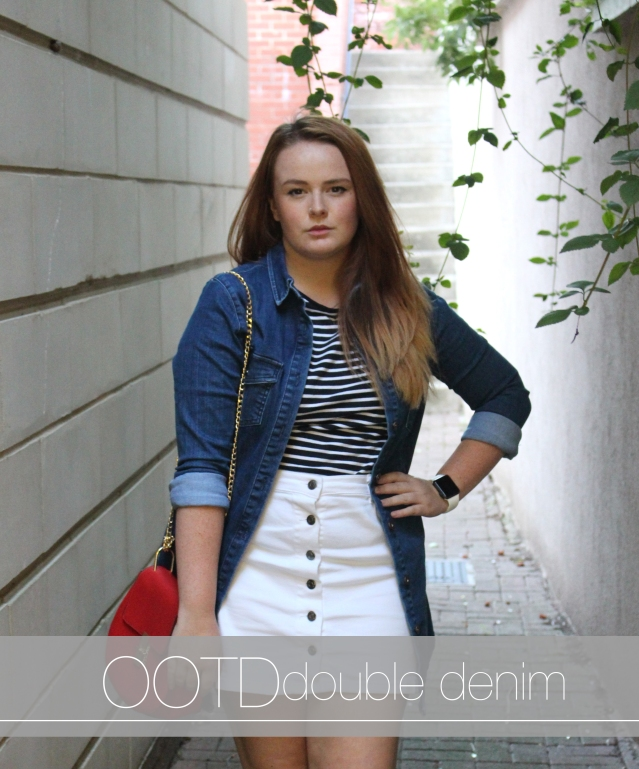 primark double denim ootd cover