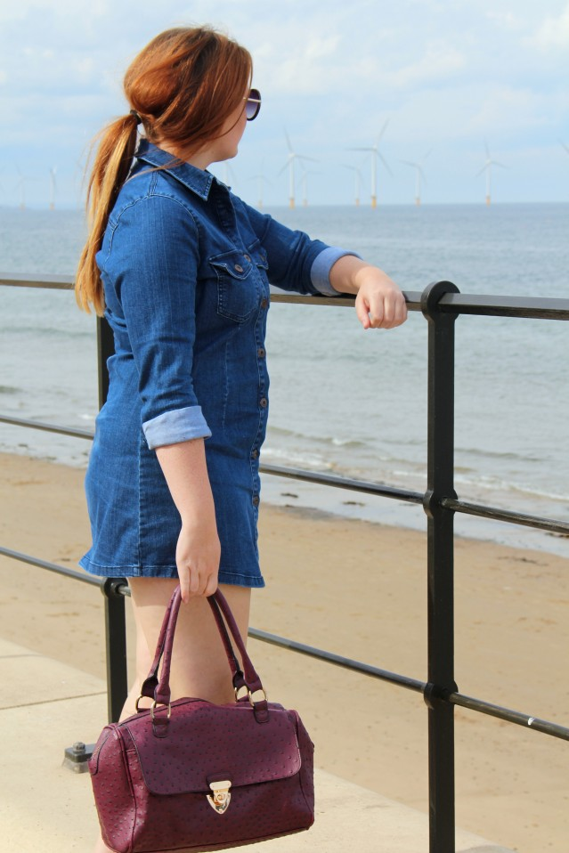Seaside Denim Dress OOTD-006