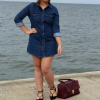 OOTD: Denim & the Deep