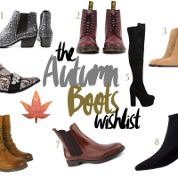 The Autumn Boots Wishlist*