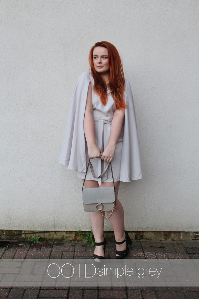 ASOS-CAPE-DRESS-OOTD-GREY-BACKLESS-STYLE cover