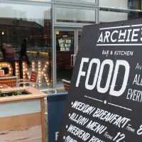 Eat, Drink, Disco at Archie's for Brunch