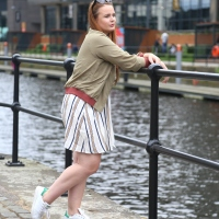 Summer Stripes and Bomber Jackets