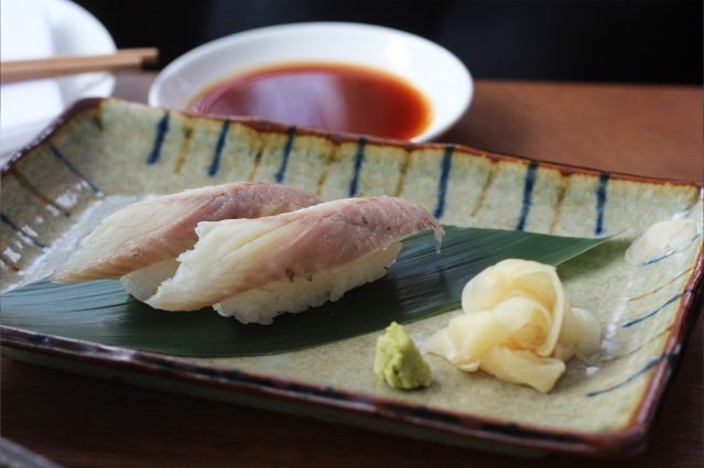 issho-luxury-brunch-smoked-eel-nigiri