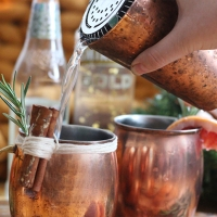 Festive Cheats; the Moscow Mule winter cocktail recipe